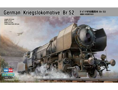 Hobby Boss German Kriegslokomotive BR-52 1:72 (82901)