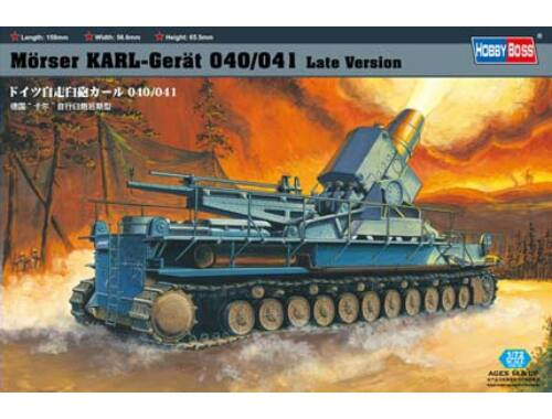 Hobby Boss Mörser Karl-Gerät 040/041 Late Version 1:72 (82905)