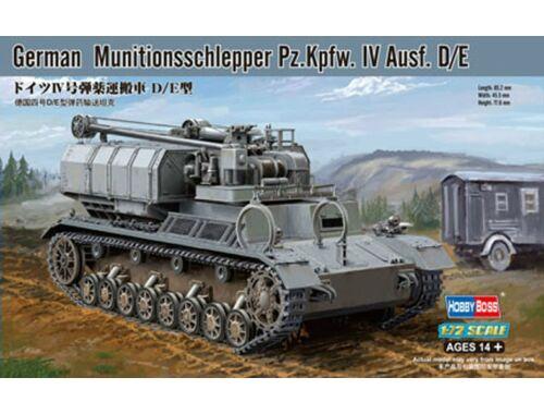 Hobby Boss German Munitionsschlepper Pz.Kpfw. IV Ausf. D/E 1:72 (82907)