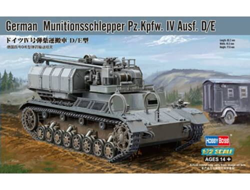 Hobby Boss German Munitionsschlepper Pz.Kpfw. IV Ausf. D/E 1:72 (82907)