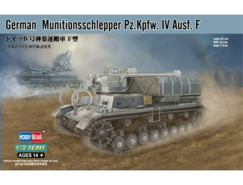 Hobby Boss German Munitionsschlepper Pz.Kpfw. IV Ausf. F 1:72 (82908)