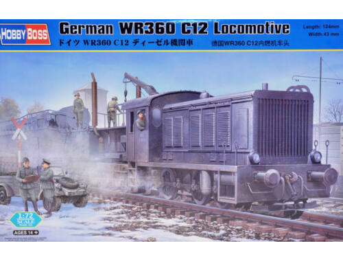 Hobby Boss German WR360 C12 Locomotive 1:72 (82913)