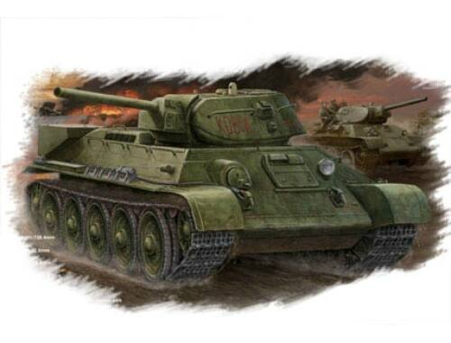 Hobby Boss Russian T-34/76 (1942 No.112) tank 1:48 (84806)