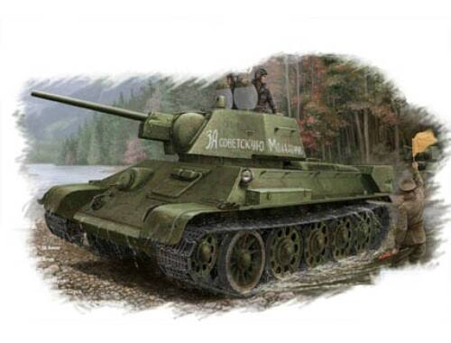 Hobby Boss Russian T-34/76 (1943 No.112)Tank 1:48 (84808)