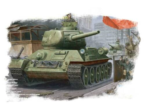 Hobby Boss RussianT-34/85(1944 angle-jointed turret) tank 1:48 (84809)
