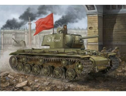 Hobby Boss Russian KV-1 1942 Simplified Turret tank 1:48 (84812)