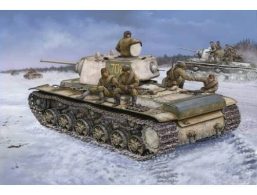 Hobby Boss KV-1 1942 Heavy Cast Turret Tank 1:48 (84813)