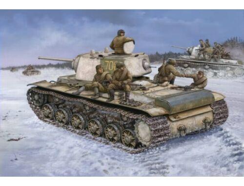 Hobby Boss KV-1 1942 Heavy Cast Turret Tank 1:48 (84813)