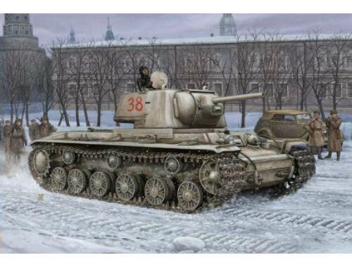 Hobby Boss Russian KV -1'S Ehkranami tank 1:48 (84814)