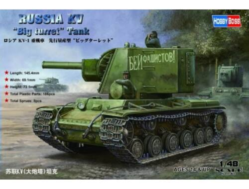 Hobby Boss Russian KV Big Turret Tank 1:48 (84815)