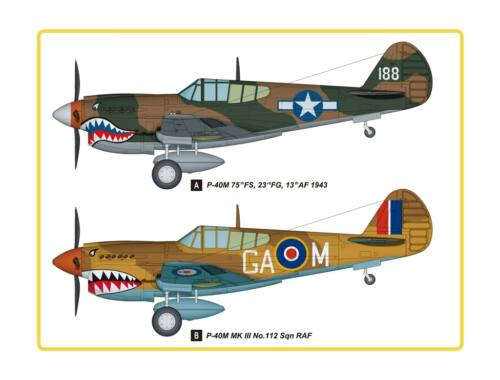 Hobby Boss P-40E Kitty Hawk Fighter 1:48 (85801)