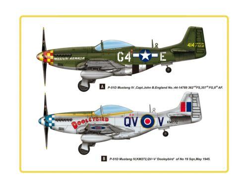 Hobby Boss P-51D Mustang IV Fighter 1:48 (85802)
