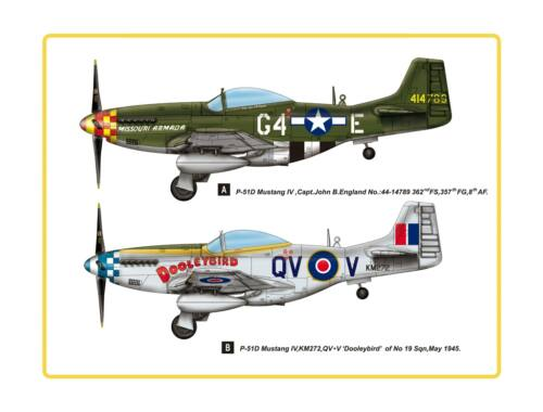 Hobby Boss P-51D Mustang IV Fighter 1:48 (85802)