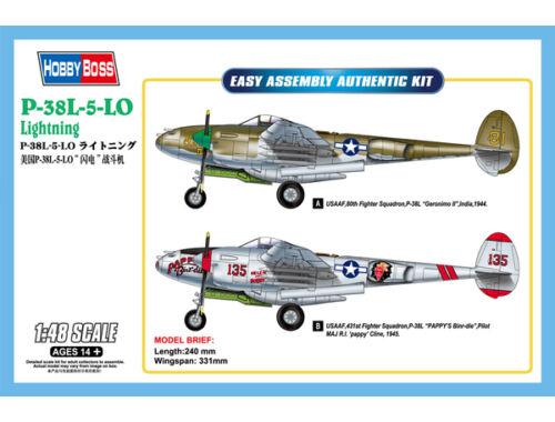 Hobby Boss P-38L-5-LO Lightning 1:48 (85805)