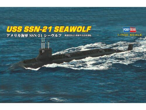 Hobby Boss USS SSN-21 SEAWOLF ATTACK SUBMARINE 1:700 (87003)