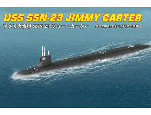 Hobby Boss SSN-23 JIMMY CARTER ATTACK SUBMARINE 1:700 (87004)
