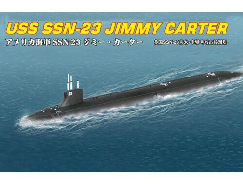 Hobby Boss SSN-23 JIMMY CARTER ATTACK SUBMARINE 1:700 (87004)