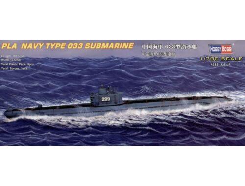 Hobby Boss PLA Navy Type 033 submarine 1:700 (87010)