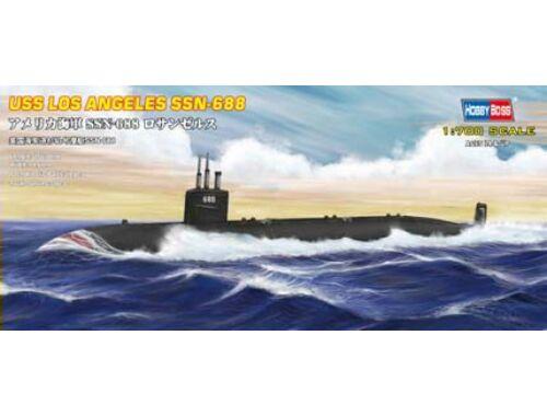 Hobby Boss USS Navy Los Angeles submarine SSN-688 1:700 (87014)