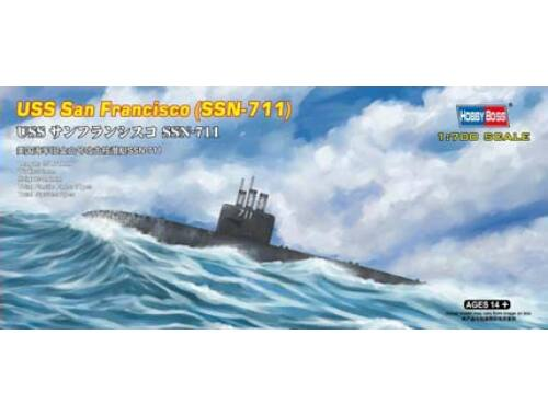 Hobby Boss USS San Francisco (SSN-711) 1:700 (87015)