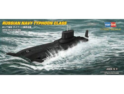 Hobby Boss Russian Navy Typhoon class Submarine 1:700 (87019)