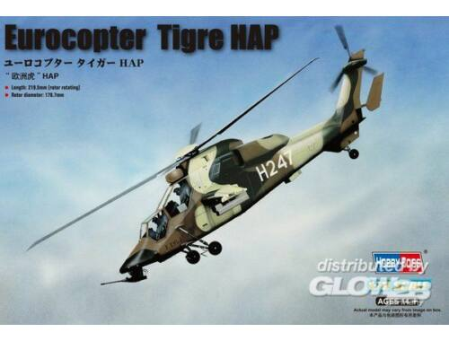Hobby Boss French Army Eurocopter EC-665 Tigre HAP 1:72 (87210)