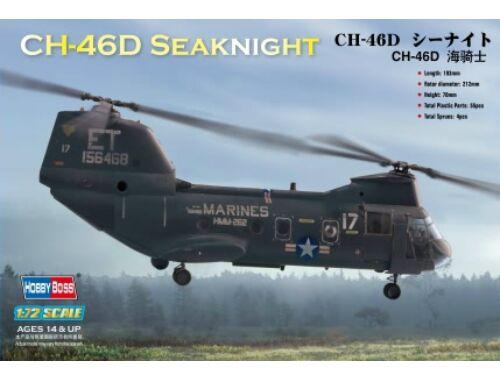 Hobby Boss American CH-46 ''sea knight'' 1:72 (87213)