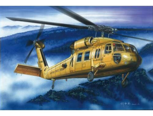 Hobby Boss American UH-60A ''Blackhawk'' helicopter 1:72 (87216)
