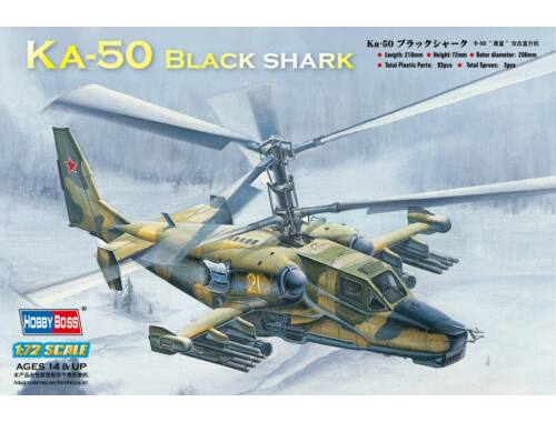 Hobby Boss Ka-50 Black shark Attack Helicopter 1:72 (87217)