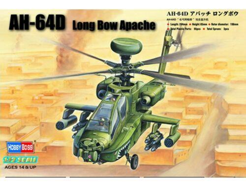 Hobby Boss AH-64D ''Long Bow Apache'' 1:72 (87219)