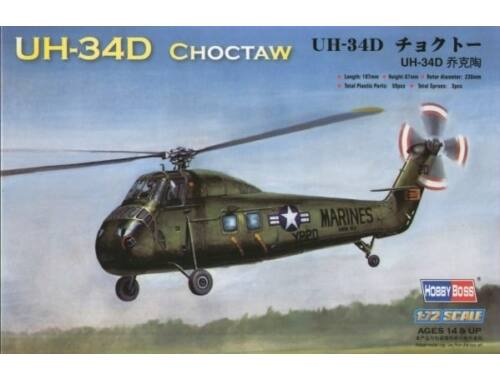 Hobby Boss American UH-34D ''Choctaw'' 1:72 (87222)