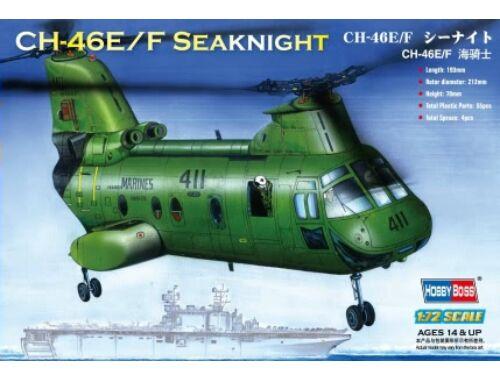 Hobby Boss American CH-46F ''sea knight'' 1:72 (87223)