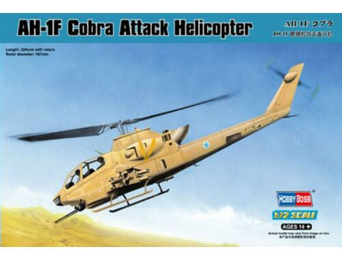 Hobby Boss AH-1F Cobra Attack Helicopter 1:72 (87224)