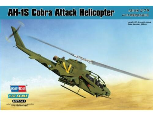 Hobby Boss AH-1S Cobra Attack Helicopter 1:72 (87225)
