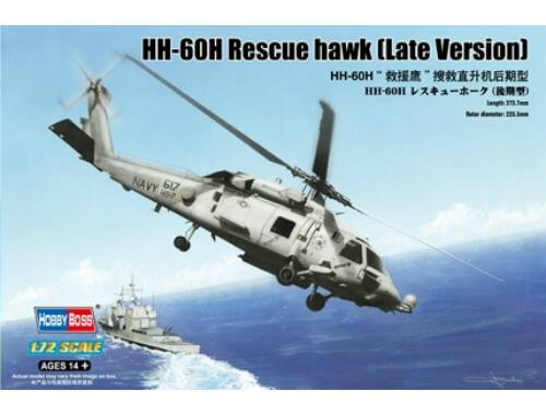 Hobby Boss HH-60H Rescue hawk (Late Version) 1:72 (87233)