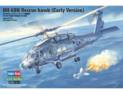 Hobby Boss HH-60H Rescue hawk (Early Version) 1:72 (87234)