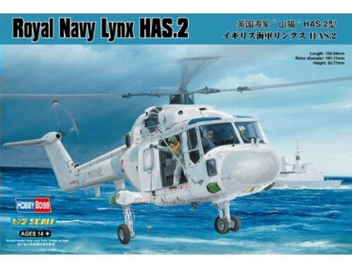 Hobby Boss Royal Navy Lynx HAS.2 1:72 (87236)