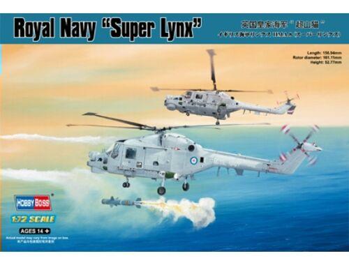 Hobby Boss Royal Navy Lynx HMA.8 (''Super Lynx') 1:72 (87238)