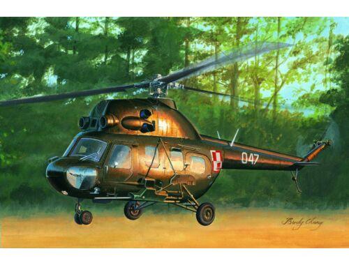 Hobby Boss Mil mi-2US Hoplite gunship variant 1:72 (87242)