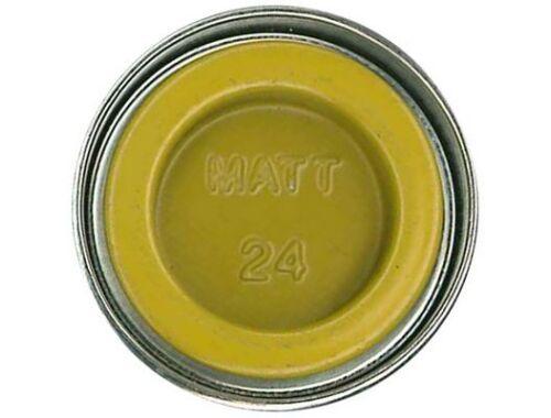 Humbrol Enamel 024 Trainer Yellow Matt (AA0268)