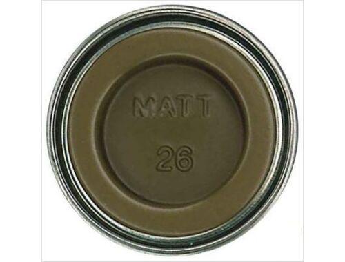 Humbrol Enamel 026 Khaki Matt (AA0285)
