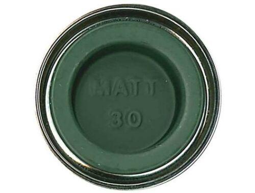 Humbrol Enamel 030 Dark Green Matt (AA0326)