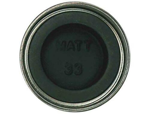 Humbrol Enamel 033 Black Matt (AA0360)