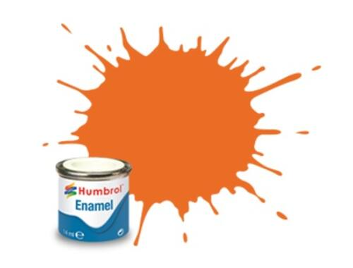 Humbrol Enamel 046 Orange Matt (AA0046)