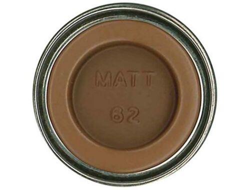 Humbrol Enamel 062 Leather Brown Matt (AA0672)