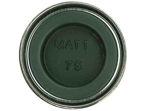 Humbrol Enamel 075 Nato Green Matt (AA0833)