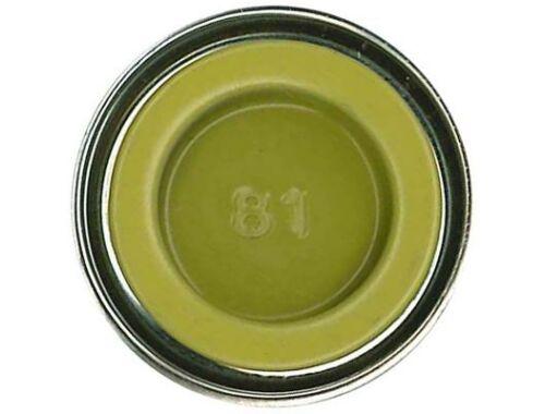 Humbrol Enamel 081 Pale Yellow Matt (AA0895)