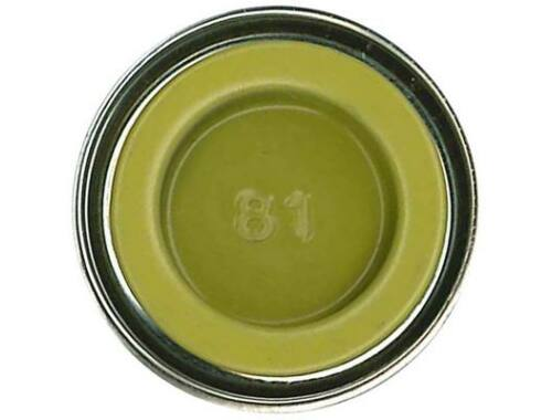 Humbrol Enamel 081 Pale Yellow Matt (AA0895)