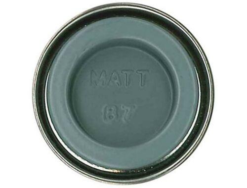 Humbrol Enamel 087 Steel Gray Matt (AA0967)