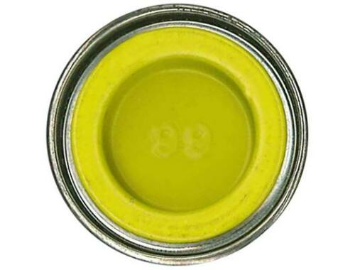 Humbrol Enamel 099 Lemon Yellow Matt (AA1095)